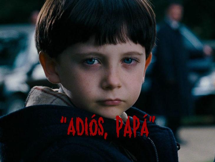 adiós papá Frases escalofriantes de niños