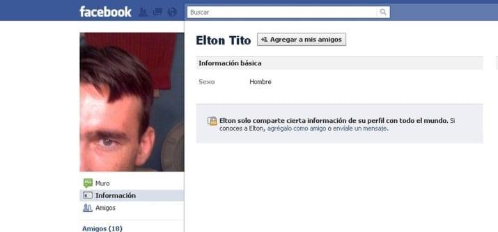 Nombres graciosos facebook - Elton Tito