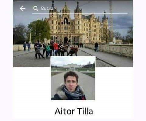 Nombres graciosos facebook - Aitor Tilla