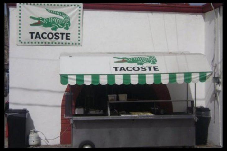 Tacoste puesto de tacos