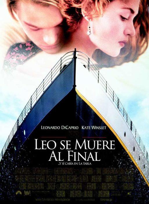 leo se muere al final titanic título honesto