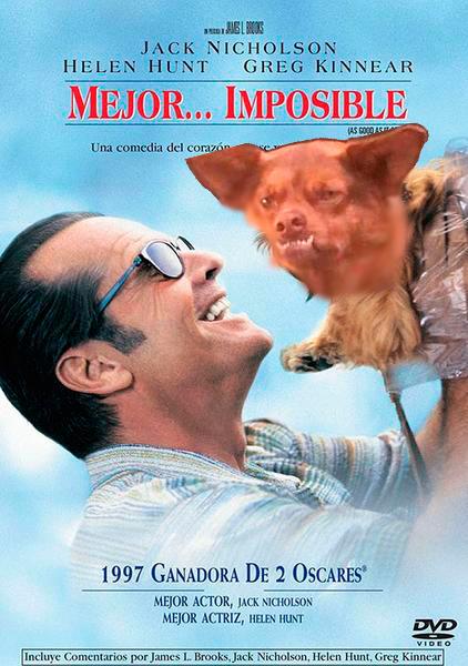 Poster de Mejor imposible con chilaquil