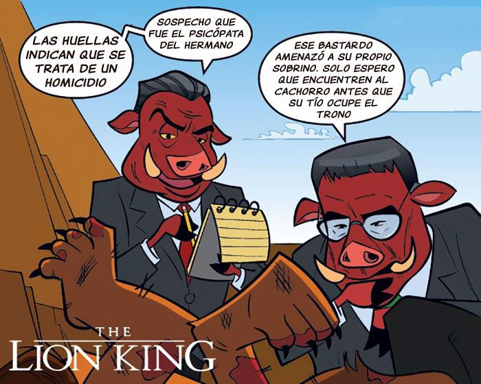el rey león cómics
