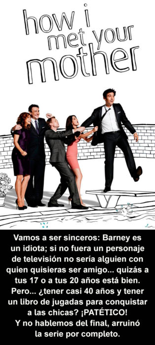 Crítica cruel How I Met Your Mother