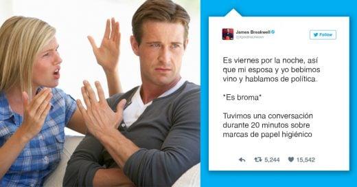 Cover Tweets hilarantes sobre el matrimonio que dio en el blanco