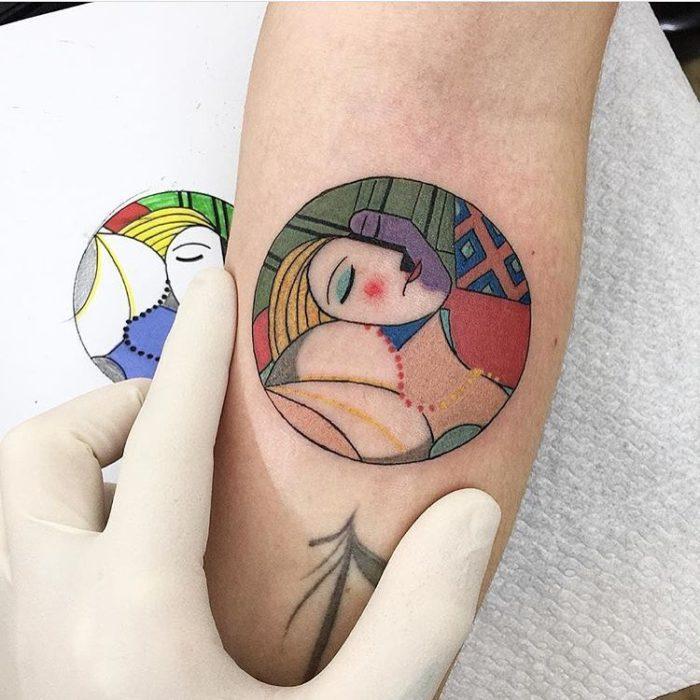 Tatuaje picaso sueño