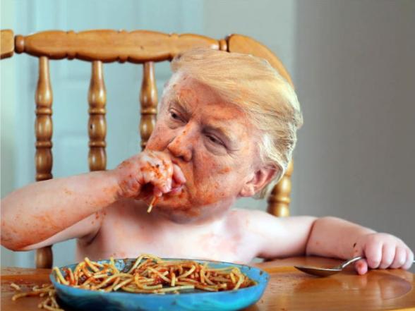 Saboreando su spaghetti