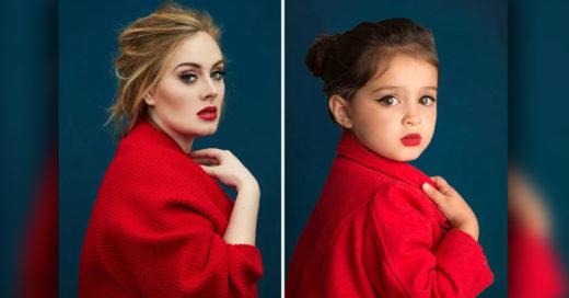 Cover Vistió a su hija de 3 años como las 13 mujeres iconos del mundo