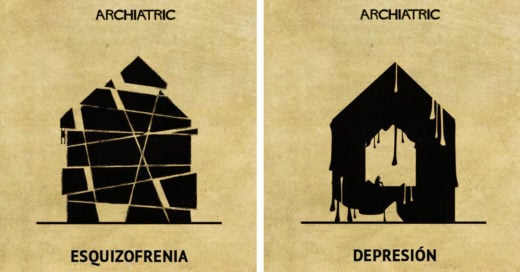 Cover Así serían las principales enfermedades mentales si fuesen una casa