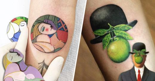 Cover tatuajes que necesitarás si eres un fanático del arte