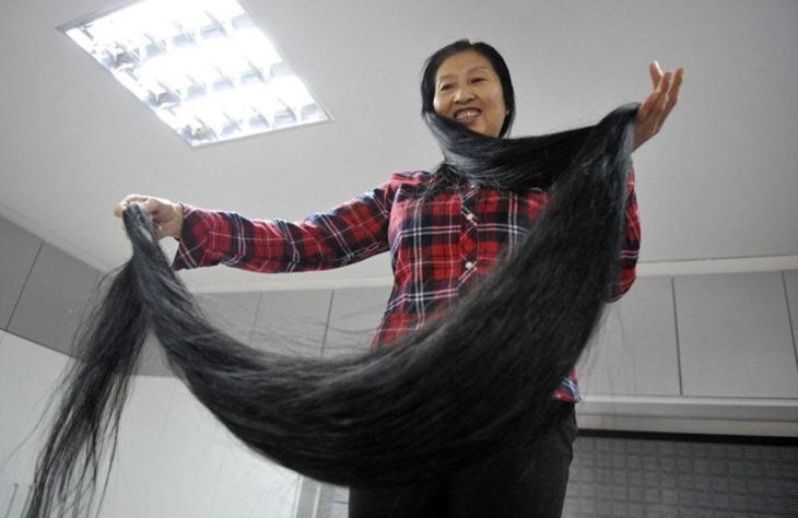 Salir a pasear cargando el cabello