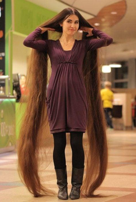 cuando tu cabello es más largo que tu
