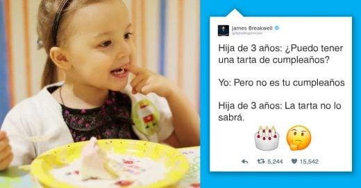 Cover Graciosos tuits de un padre que vive con niñas genio