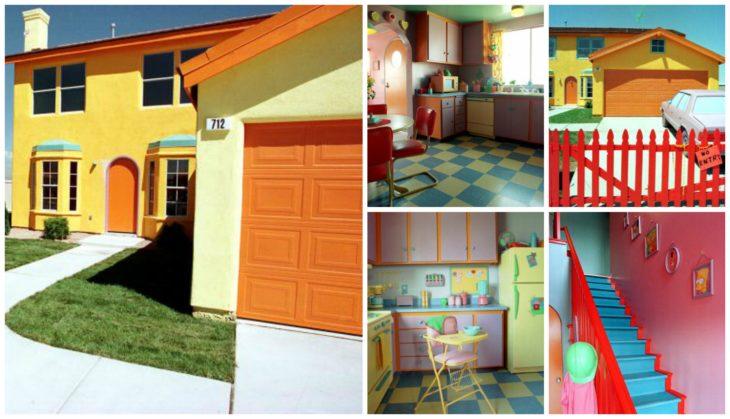 casa de los Simpson