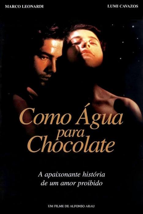 como agua para chocolate organico