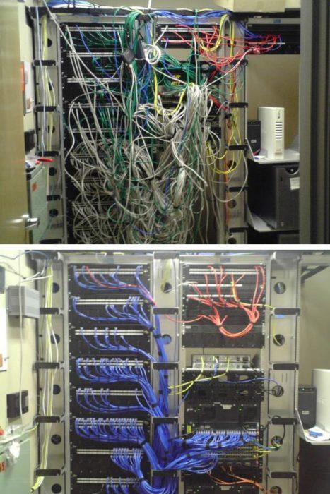 cables ordenados