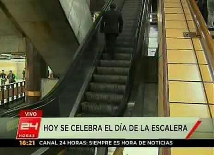 noticia sobre el día de la escalera