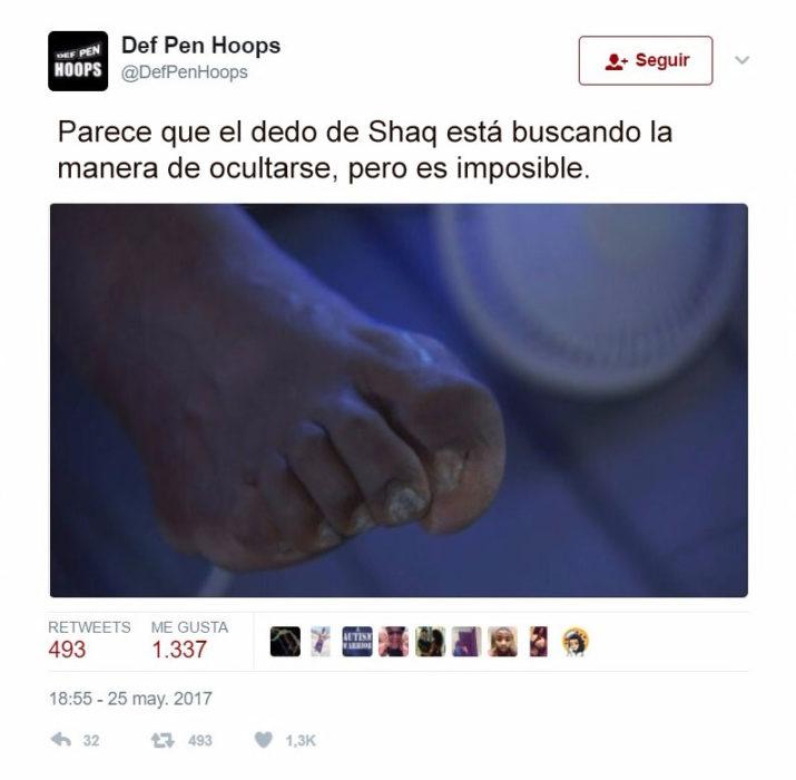 dedo de shaq