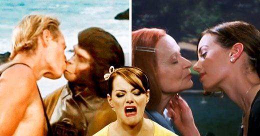 Cover Los 10 besos más raros del cine