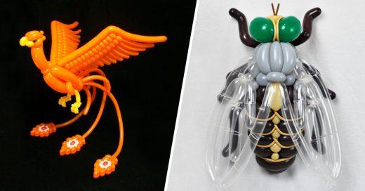Cover Estos animales hecho con globos están a otro nivel