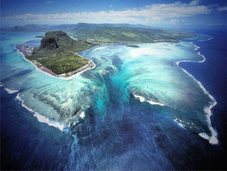 Catarata subacuática