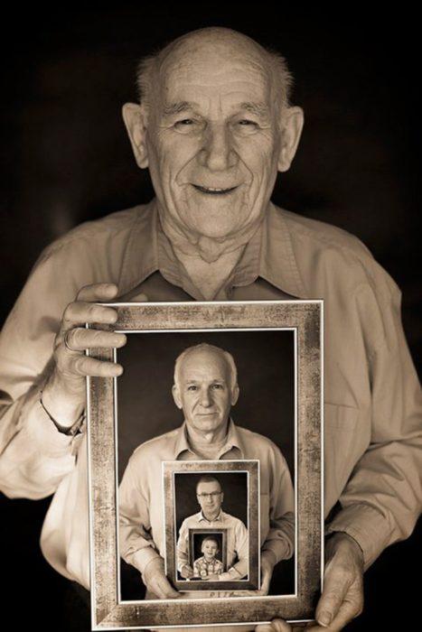 orgulloso bisabuelo