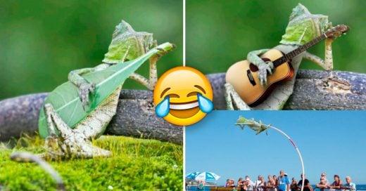 Cover Una lagartija provocó la mejor batalla de Photoshop de la historia