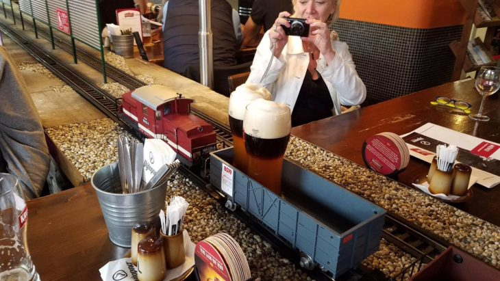 Tren café expresso