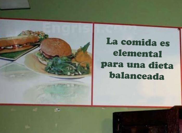 comida dieta balanceada