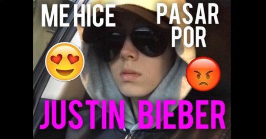 Cover Se hizo pasar por Justin Bieber y desató la euforia de miles de 'beliebers'