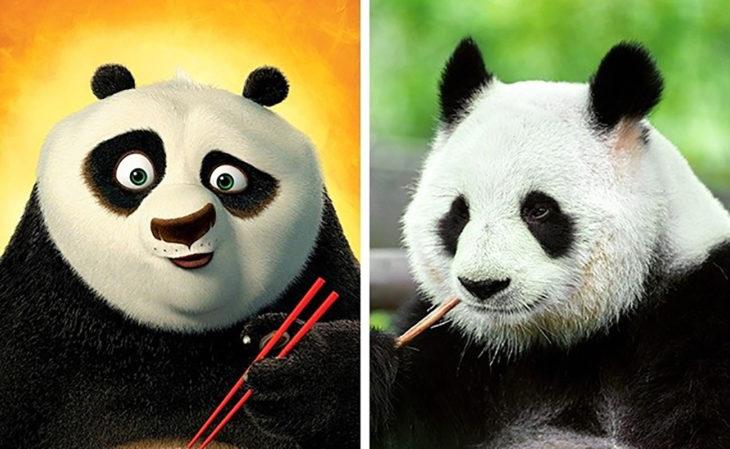 pu de kung fu panda en la vida real