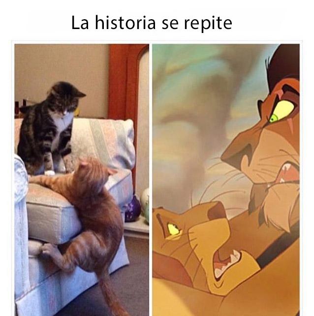 la historia se repite