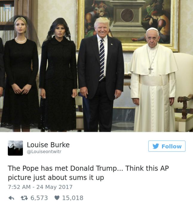 memes papa trump 1
