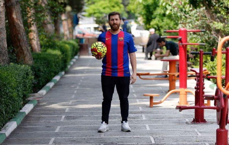 Messi balón fútbol