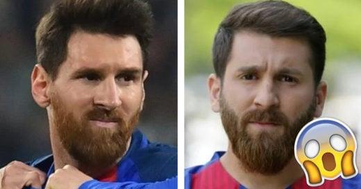 Cover gemelo perdido de Messi