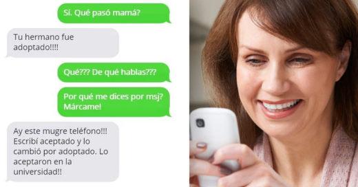 Cover Mensajes de texto que solo tu MAMÁ te mandaría