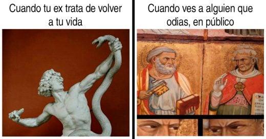 Cover memes de arte clásico que describen tu vida a laperfección