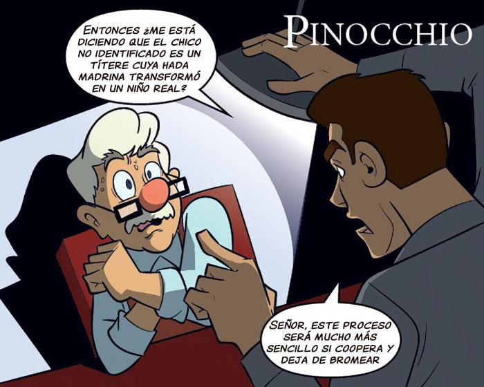 pinochio cómic