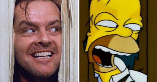Cover veces en los que Los Simpson parodiaronal cine