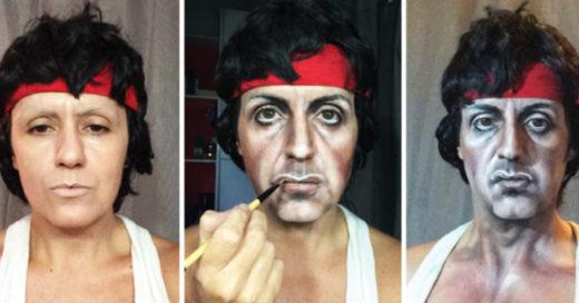 Cover Artista del maquillaje se transforma en la celebridad que desea