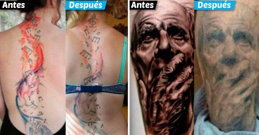 Cover Así es como lucen los tatuajes después de varios años