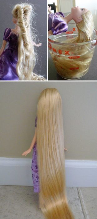 cabello de las muñecas