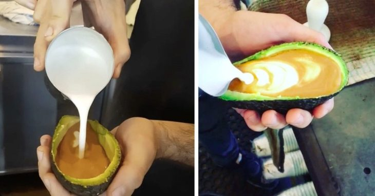 latte avocado