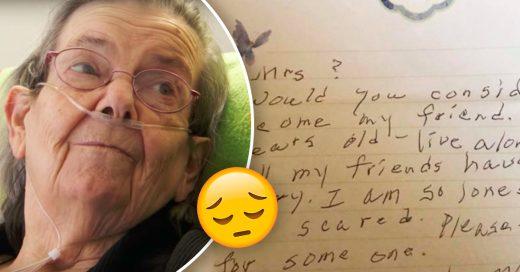 Cover Anciana de 90 años pide a sus vecinos que sean sus amigos con emotiva carta