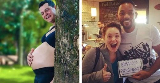 Cover Divertidas formas para decirle al mundo que: ¡están esperando un bebé