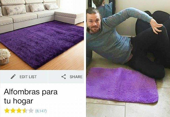 tapete morado compras internet