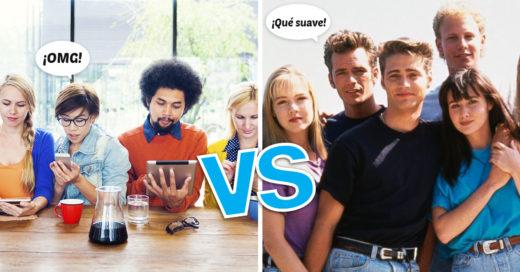 Cover duras diferencias de frases millennials contra como se decían en los 90's
