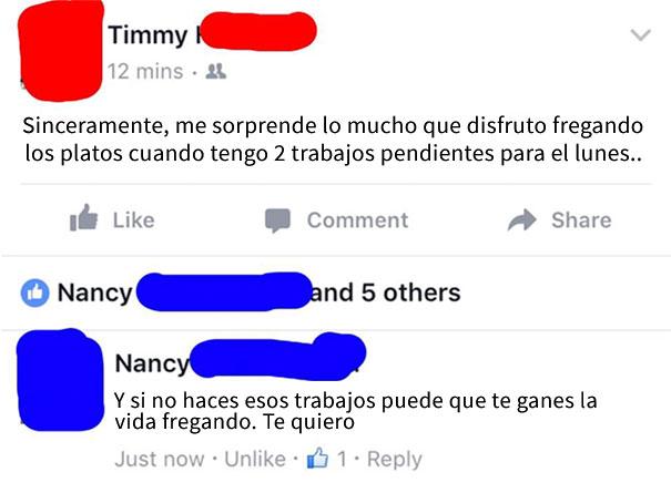 abuela consejos nieto facebook