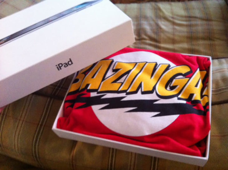 bazinga playera the big bang theory
