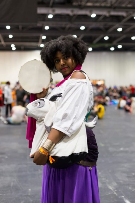 Esmeralda comicon cosplay